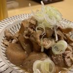 蕎麦とお酒 そばいち - 名物肉豆腐