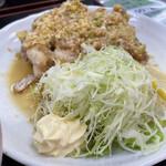 旬菜四季工房 瑠々花 - 油淋鶏