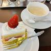 ウエスト ベイカフェ ヨコハマ - 料理写真:ショートケーキ