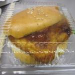 ルピナス - 料理写真:魚バーガー お魚大きいでしょう?