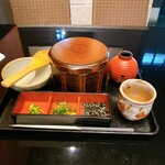 海鮮 日本酒 ほっこり - 鮭といくらのひつまぶし