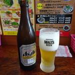 ばんらい屋 - ドリンク写真:ビール