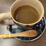 蕎麦貴石 - 蕎麦のコーヒーです。