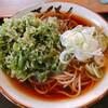 Nasubi - 料理写真:春菊そば