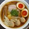 らぁ麺 紫陽花 - 料理写真:醤油わんたん麺 味玉