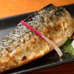 魚菜串 いちころ - サバの塩焼き