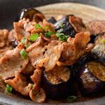 魚菜串 いちころ - ナスと豚肉のみそ炒め