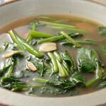 魚菜串 いちころ - 青菜炒め