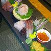 膳 - 料理写真:海から届いた鮮魚刺身ミニコース
