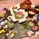 四季彩 ミズノ - 4月ディナー限定!さくら会席5500円