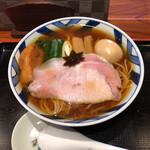 """食煅 もみじ - """"特製中華そば""""1,000円♪"""