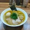 らーめん にじいろ - 料理写真:味玉塩らーめん大盛り(800円)