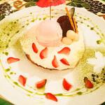 パンプルムゥス - お花見パンケーキ