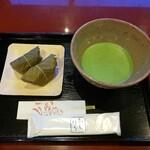 五十鈴茶屋 - 4月の朔日餅(桜餅)