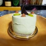ニシキヤ洋菓子店 - ピスタチオのムース