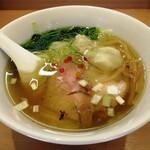 らぁ麺 はやし田 - 3種の出汁と牡蠣油の塩そば