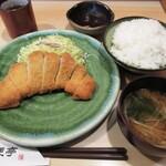 桔梗亭 - 料理写真:とんかつ定食