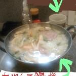 148857817 - ちゃんこ鍋(味噌味)