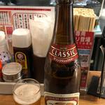赤垣屋 - 瓶ビール500円