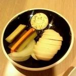 お酒とおつまみ 椿 - 卵のピクルス2012.9