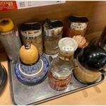 麺屋 庄太 - 卓上調味料類