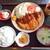 馬高 - 料理写真:チキンカツ定食