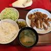 ikomaken - 料理写真:カレー味カラ揚げ定食