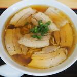 いわい製麺 - 自家製中華麺 肉そば 800円