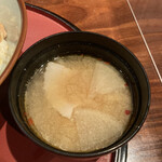 釜めし酒家 鶏味庵 - 豚汁