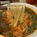 麺屋 八感 - 麺は極細でパツパツ食感
