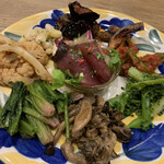 リングラッツェ - 前菜の盛り合わせ