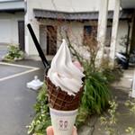 酒井のピーナツ - ピーナッツソフトクリーム