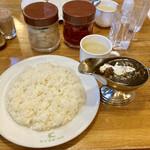 Kyoueidou - ビーフカレー、スープ付 税込1380円