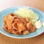 素材屋 - 豚生姜焼き