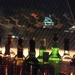 Bar Avantgarde - 店内から熊本城のライトアップが綺麗に見えます。