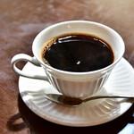 Cafe 1894 - ドリンクセット@+330円:ホットコーヒーをチョイス。別角度にて。