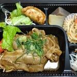 光屋 - 焼肉弁当(ご飯は別容器)  580円