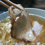 蔵八 - 麺は平打ちです