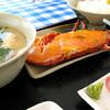 パヤオ直売店 - 料理写真:イセエビウニ焼定食(半身)@2009-04