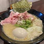 麺屋 七利屋 - 特製濃厚鶏そば 1100円