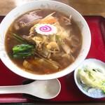 かずのや食堂 - 料理写真:醤油野菜ラーメン:550円