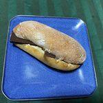 パンのお店 チャビ - 板チョコサンドフランス
