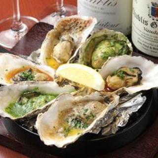 一年中、国内外の新鮮で一番美味しい牡蛎をご提供しています♪