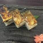 うどん本陣 山田家 - 焼鯖寿司