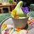 pbp - 料理写真:オーキッドソフトクリーム