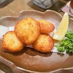 新料理 都留野 - 山芋のオランダ