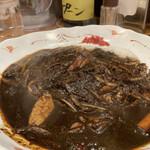 ラホール - インド風野菜ブラックカレー。