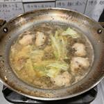 元祖博多麺もつ屋 - 追加もつ