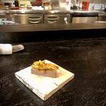 148921258 - 前菜 レバニラ辛味噌和え