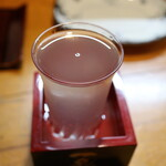 茶の間 - 日本酒(来福)
